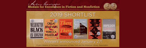 Andrew Carnegie Medals for Excellence 2019 Shortlist